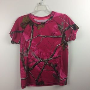 Realtree Pink Camo T-shirt Size Large